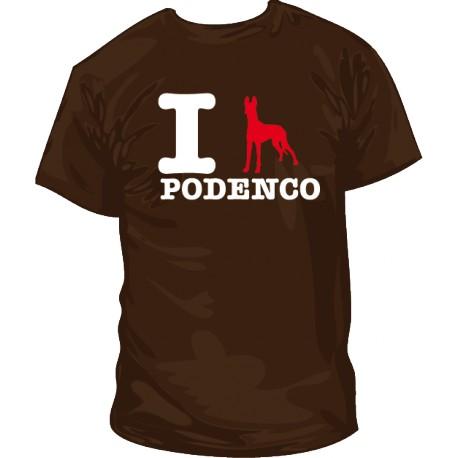 I love Podenco