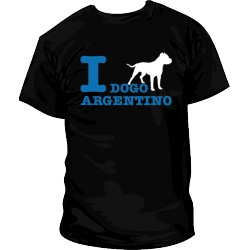 I Love Dogo Argentino