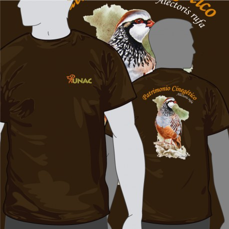 Camiseta Perdiz Espalda UNAC