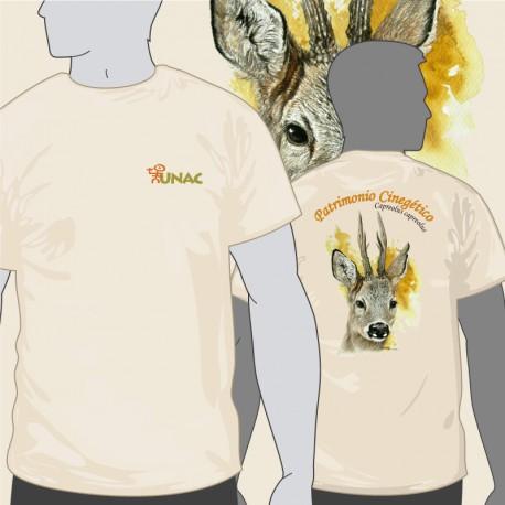 Camiseta Corzo Espalda UNAC