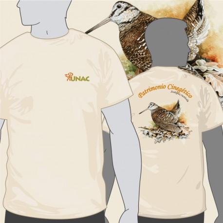 Camiseta Becada Espalda UNAC