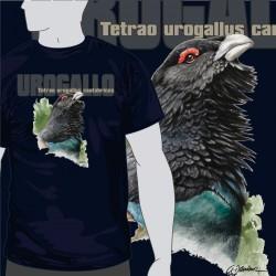 Camiseta Busto Urogallo