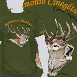 Camiseta Ciervo Berrea