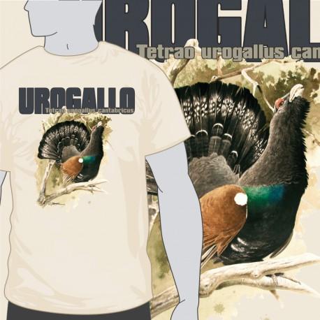 Camiseta Urogallo