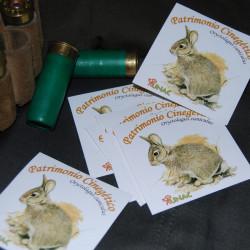 Pack 5 pegatinas Conejo UNAC